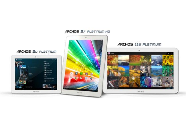 Archos-Platinum-Tablet-Range