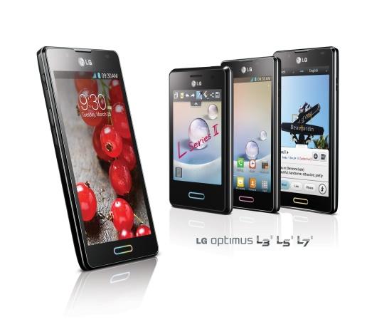 LG Optimus L-serija II