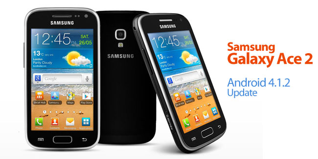 Samsung Galaxy Ace 2 Jelly Bean