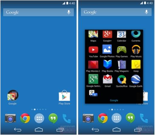 Preuzmite novi Google Experience Launcher sa Android 4.4 KitKat.