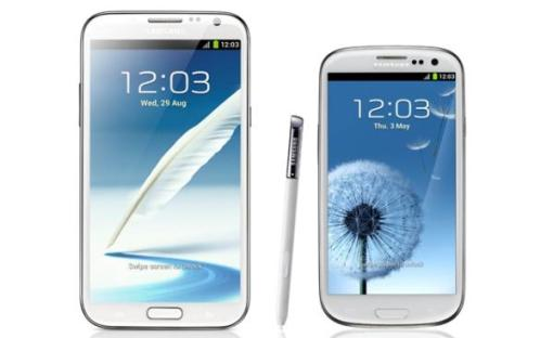 Samsung Galaxy S3, Note 2 Android 4.3 i 4.4 update.