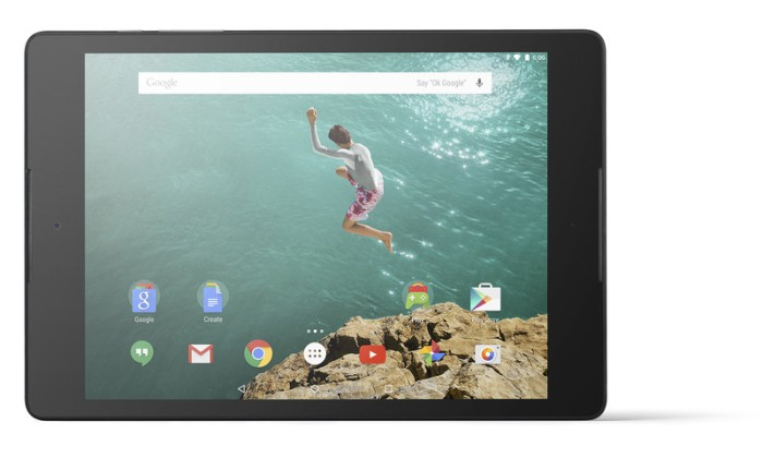 Nexus 9_Horizontal Front_Black