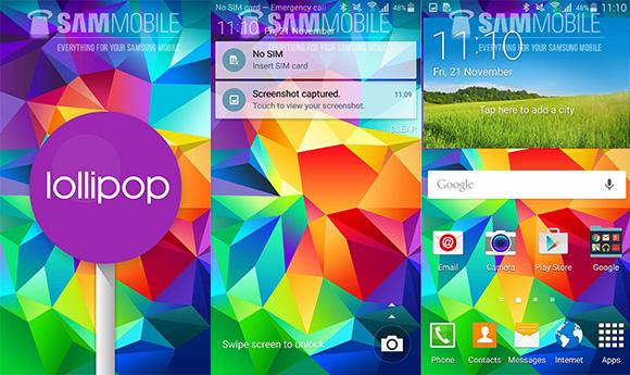 Android 5 za S5